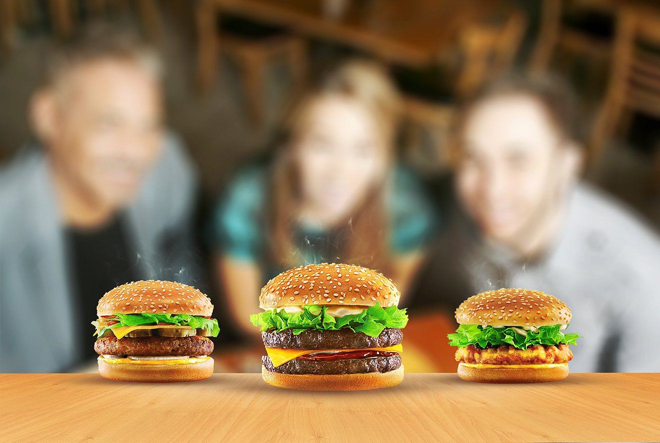 digital imaging-hamburger