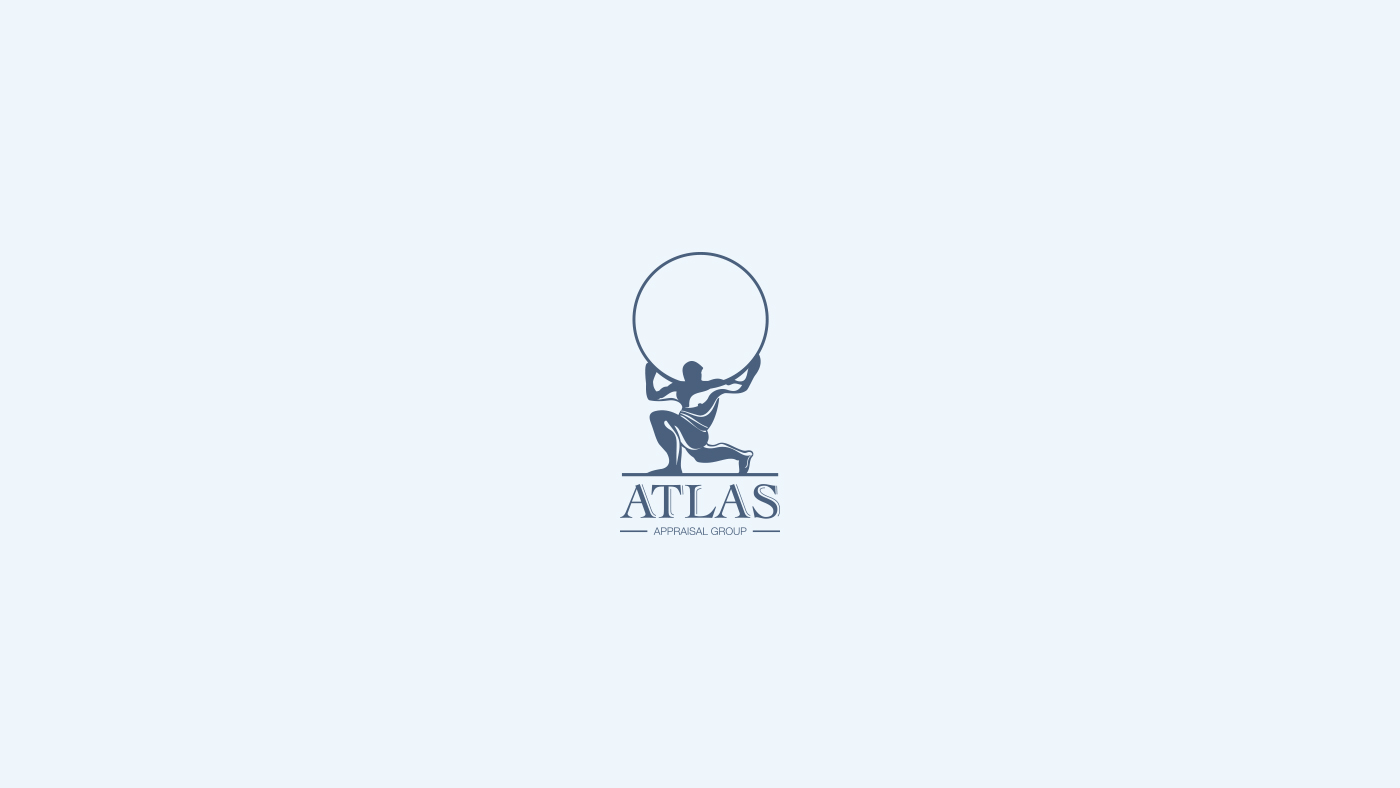 bratus-logo design- atlas appraisal groupa
