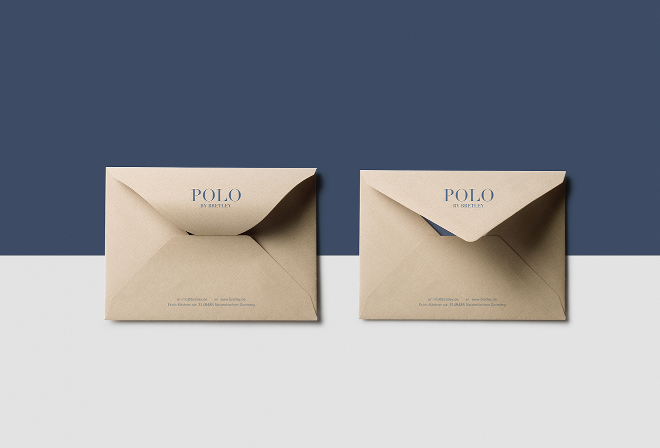 envelope design-fashion brand identity