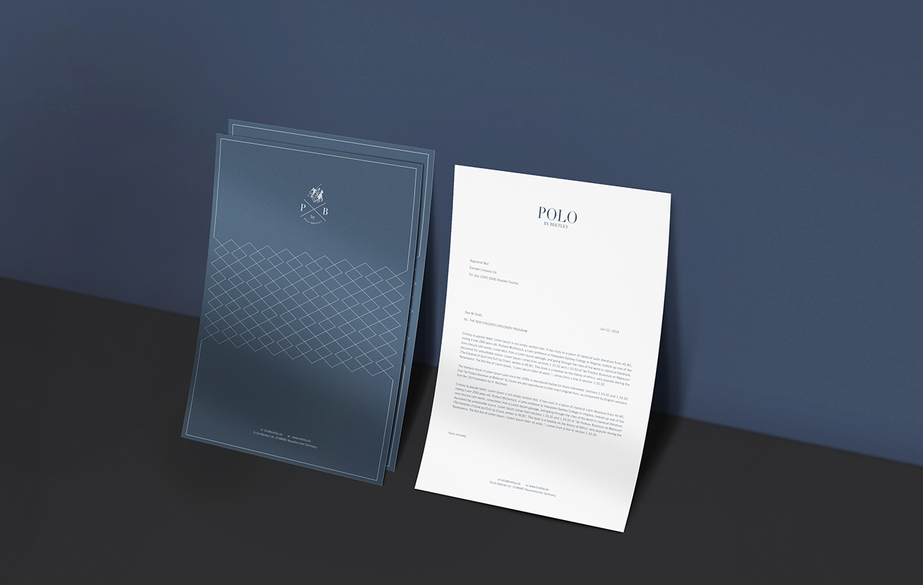 letterhead design-polo