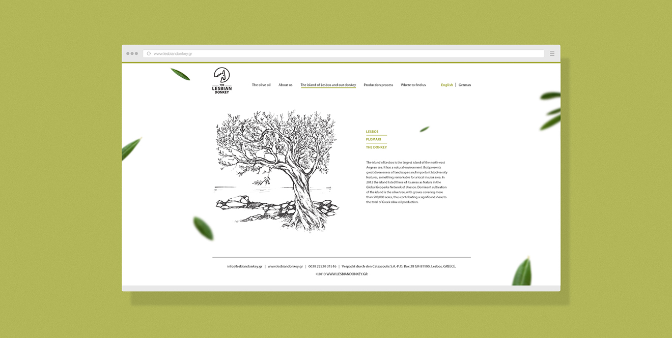 olive web design- by bratus