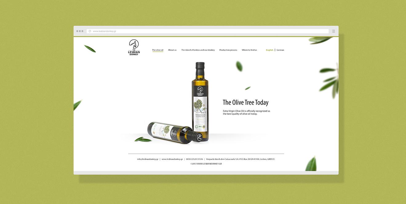 olive web design