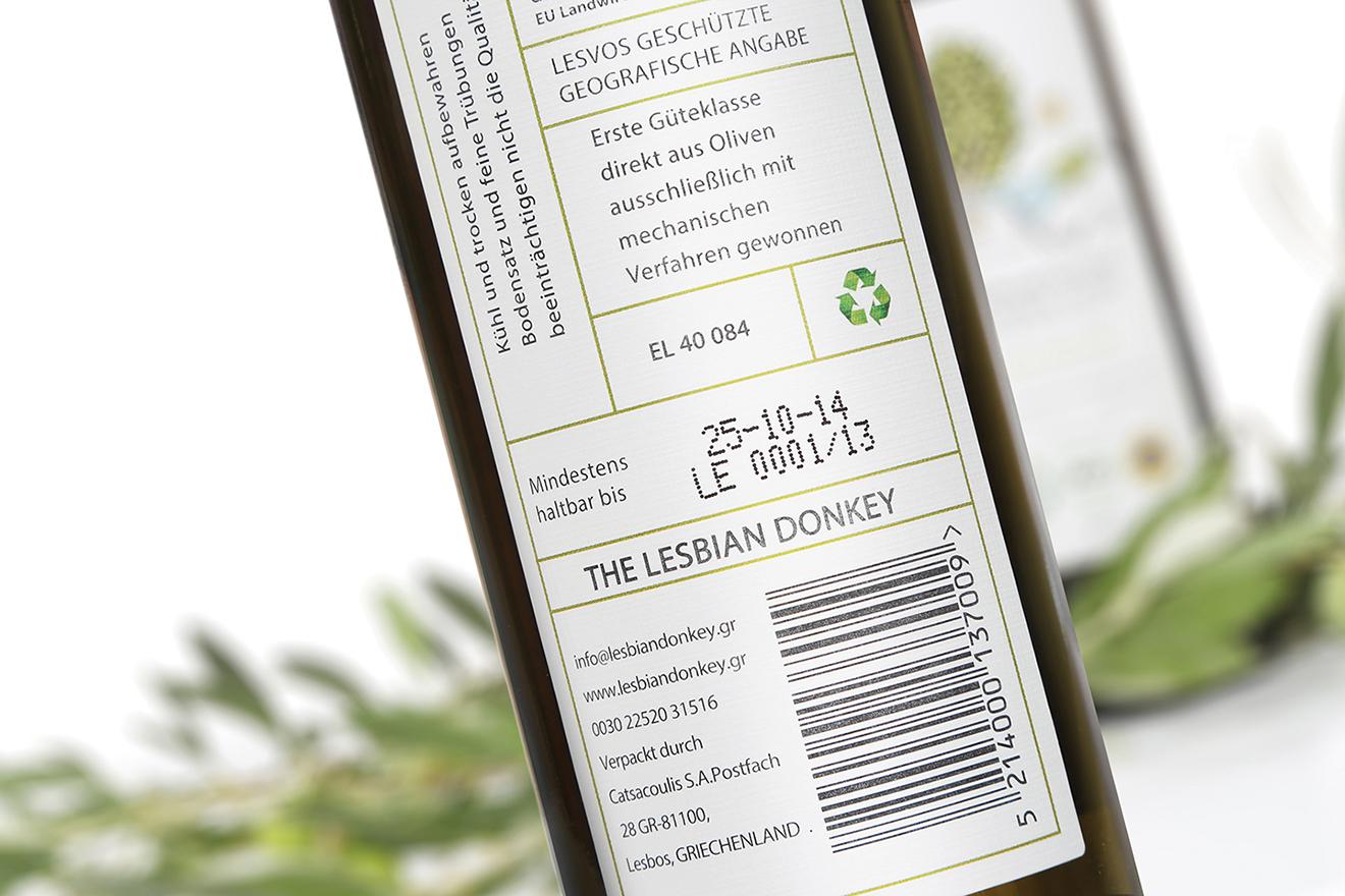 packaging olive - label design