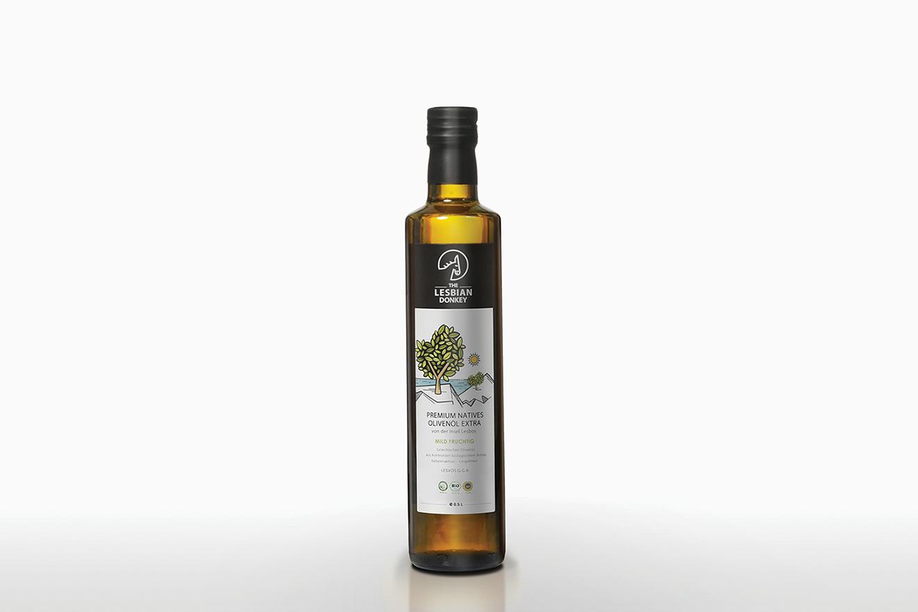 packaging olive -label design