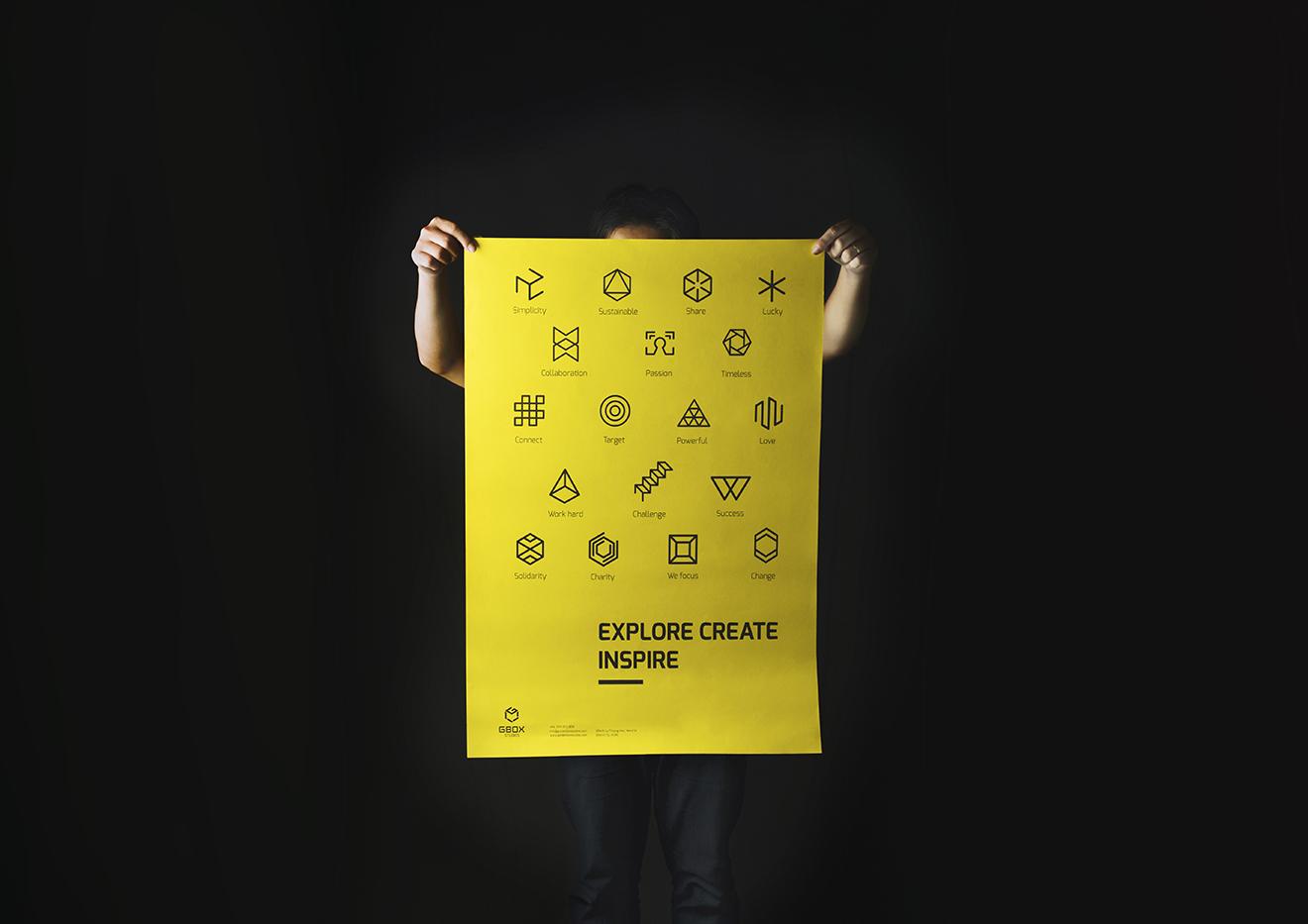 poster design-typography