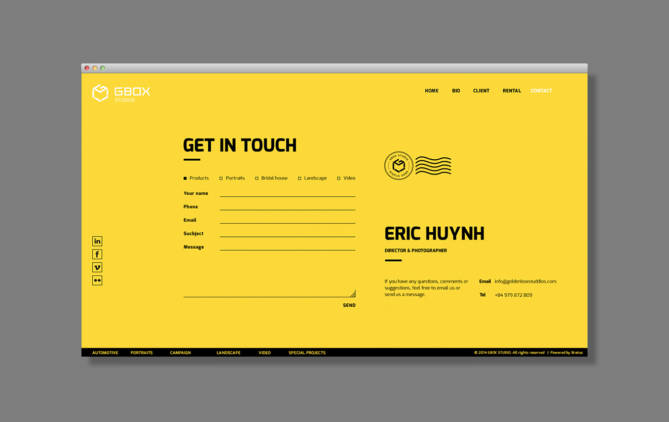 web typography-bratus