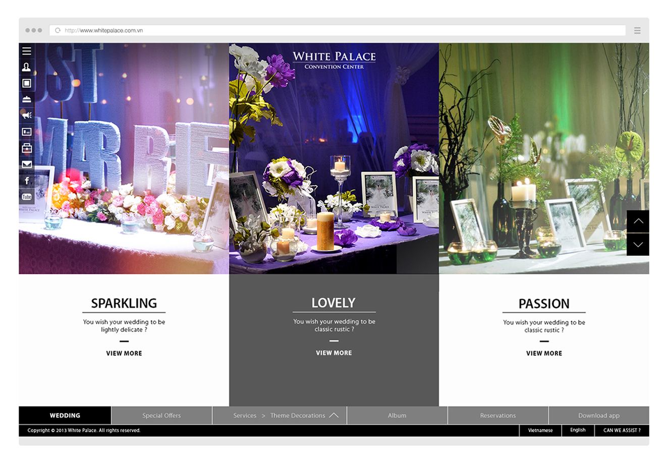 white palace web-web design agency in ho chi minh-cty bratus-agency digital vietnam