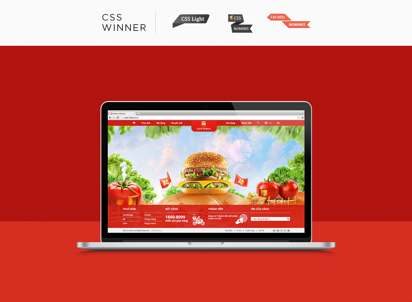 Lotteria Vietnam-Bratus- web design agency vietnam-digital agency vietnam