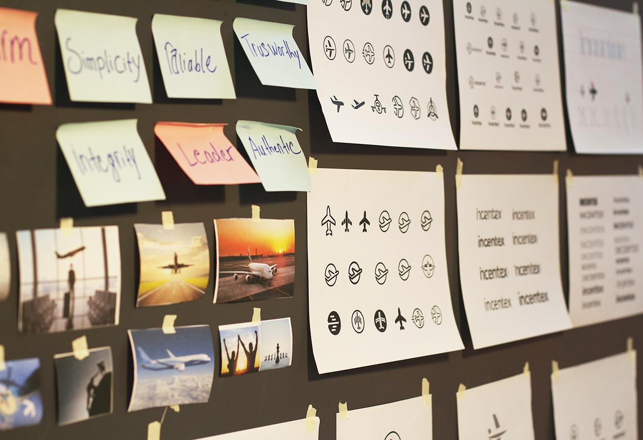 mood boards-branding agency vietnam-brand design process-logo process-cty bratus