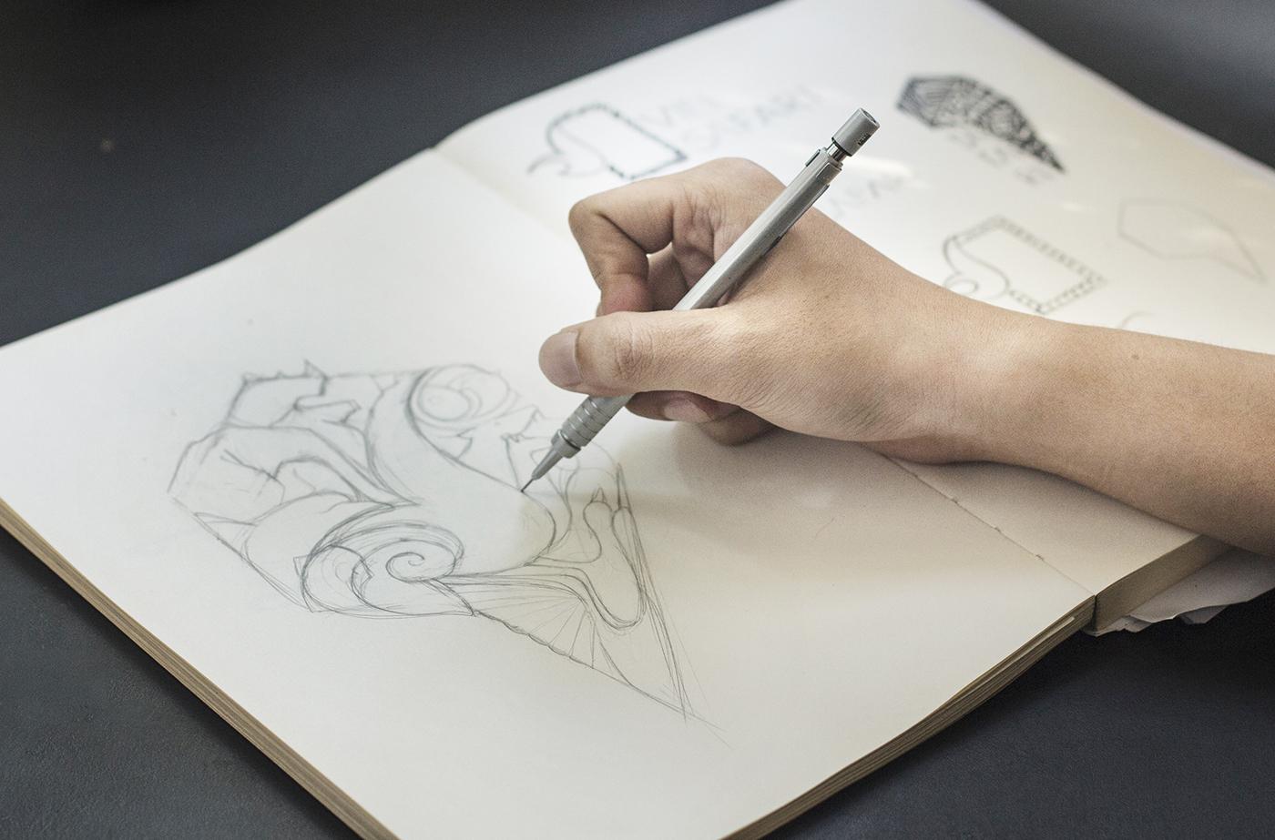 logo sketch-vinpearl safari-bratus vietnam