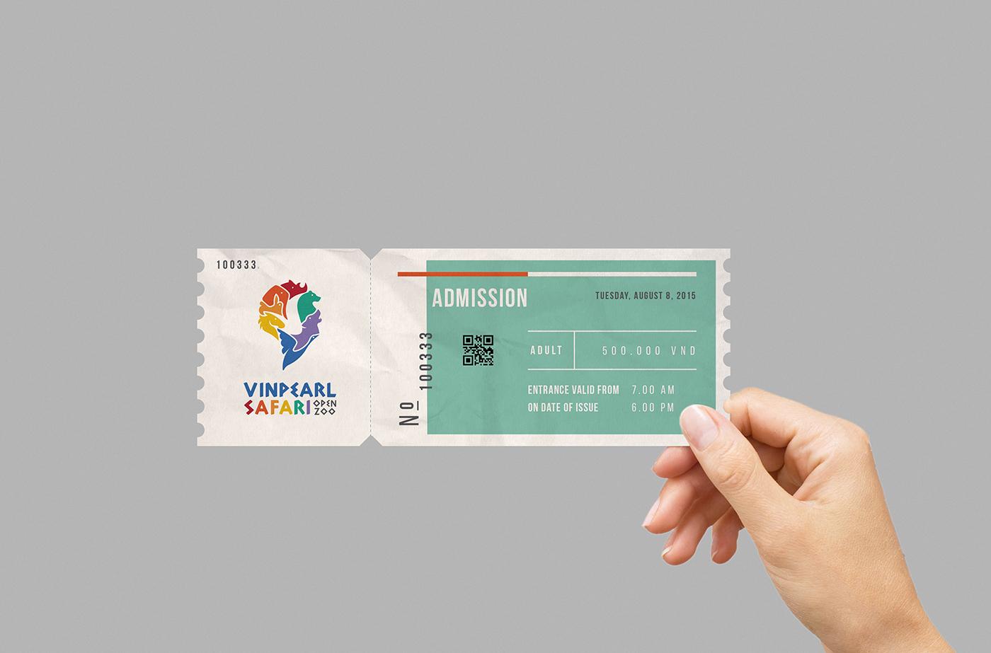 ticket-vinpearl safari-vuon thu mo-bratus-vingroup-branding agency vietnam