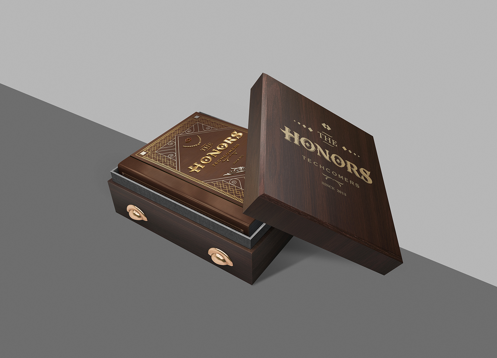 the honors techcomer-bratus agency-luxury book-packaging