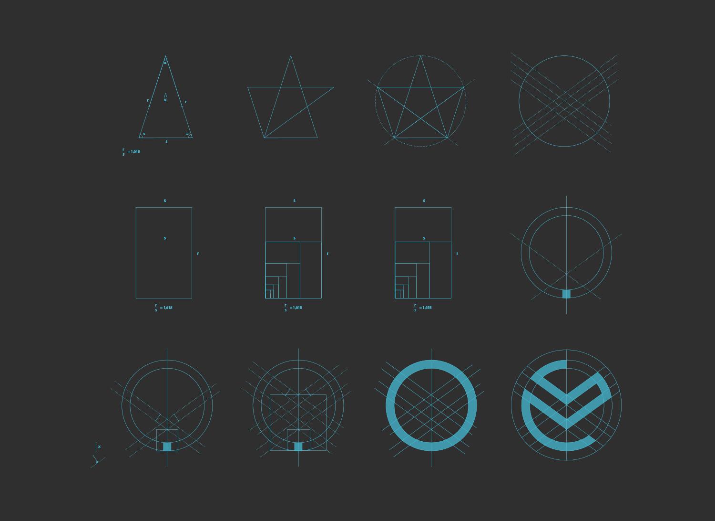 goldenratio logo design-ratio symbol-bratus agency-logo designer vietnam