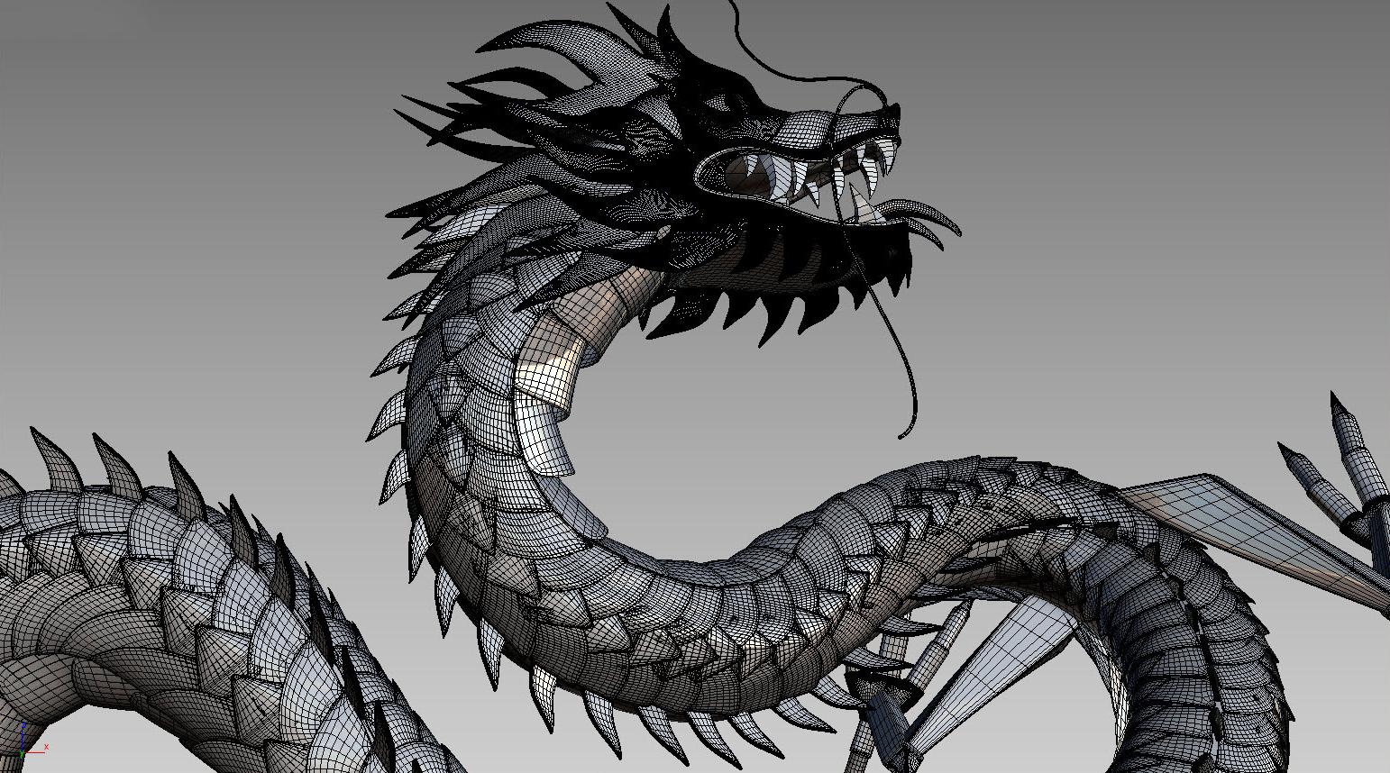 rong 3d - 3d dragon-bratus-designer vietnam