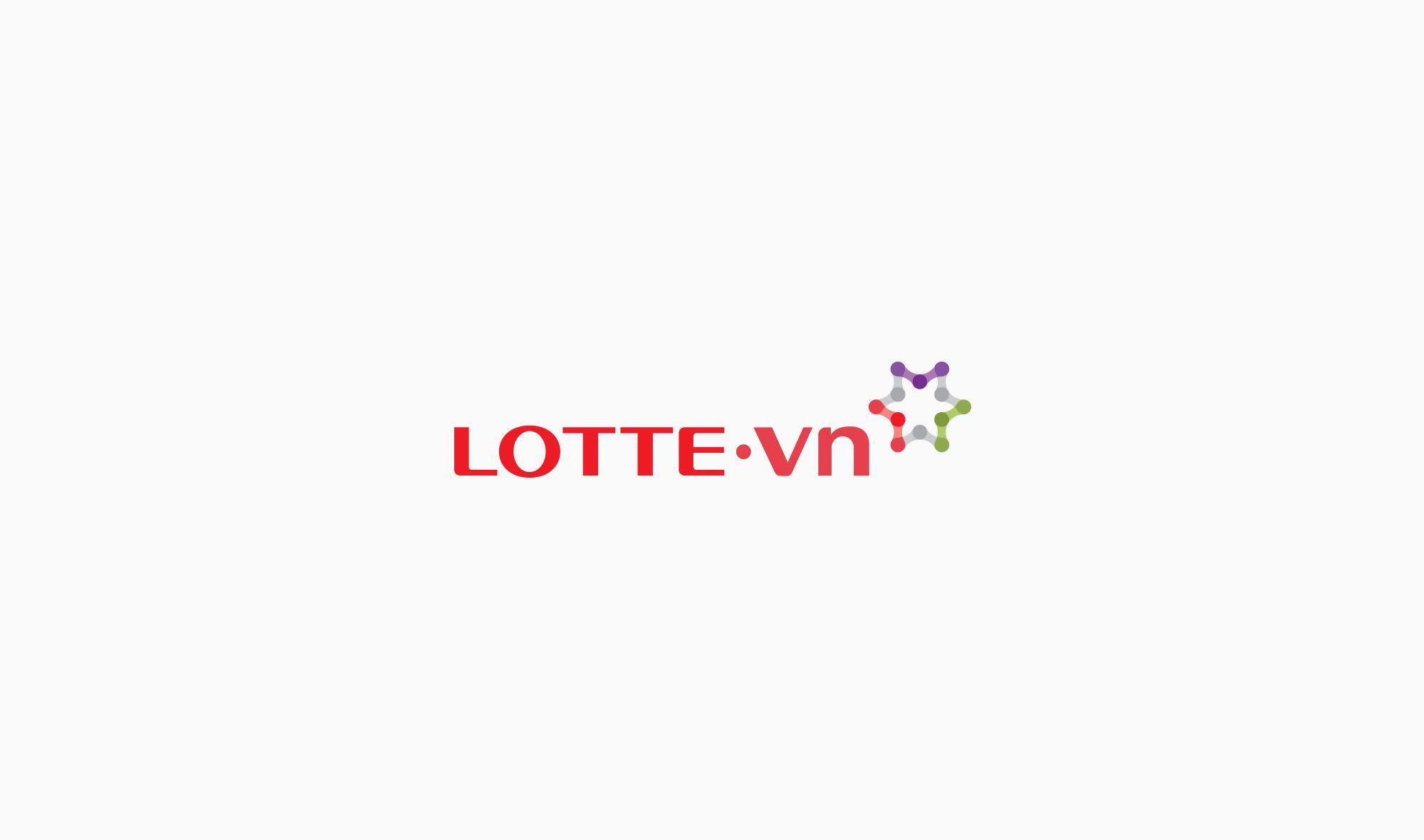 logo lotte vn-bratus-branding agency vietnam-logo designer vietnam